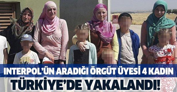 INTERPOL tarafından aranan 4 kadın Türkiye'de yakalandı!