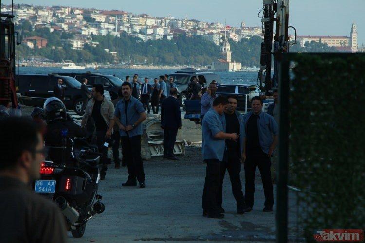 Başkan Erdoğan Kabataş projesini inceledi