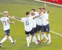 Brezilya'nın rakibi Arjantin