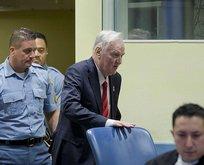 Bosna Kasabı Mladiçe müebbet hapis!