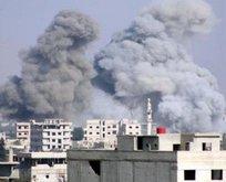 Esad rejimi kuşatma alanlarına saldırıyor