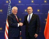 Çavuşoğlu'ndan ABD'li mevkidaşına Kudüs uyarısı