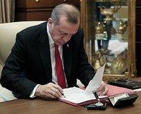 Erdoğan imzayı attı! Yeni kararname yayımlandı