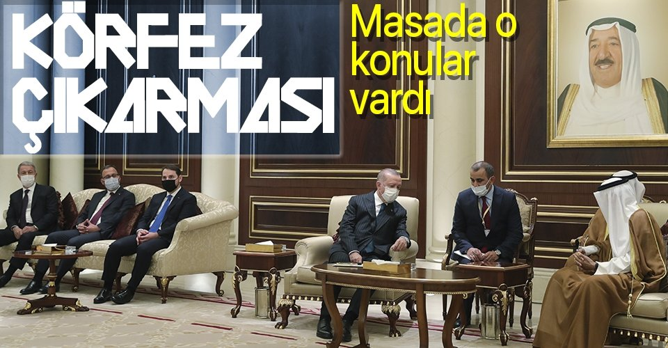 Başkan Erdoğan, Kuveyt ve Katar'a gitti