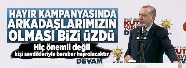 Erdoğan: Bu bozgunculuk merakının sebebi nedir?