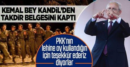 CHP lideri Kemal Kılıçdaroğlu'na Kandil'den takdir belgesi! Tezkereye hayır dedi ödülü kaptı