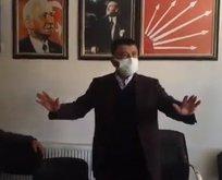 CHP'li isim canlı yayında depreme yakalandı