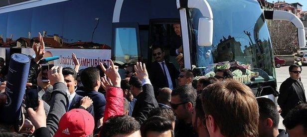 Erdoğan'dan ülkücü gençlere birlik mesajı