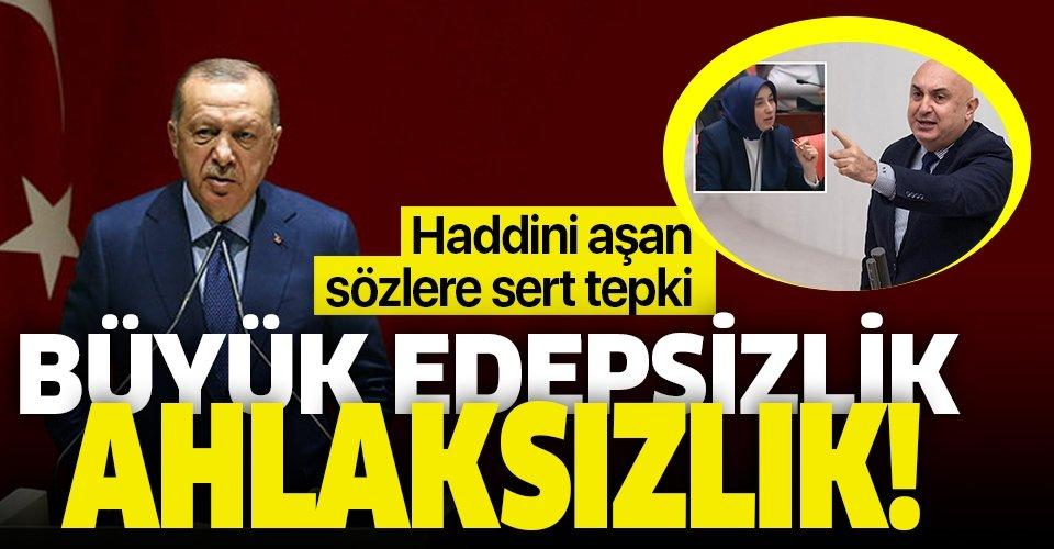 Başkan Erdoğan'dan Engin Özkoç'a sert tepki!