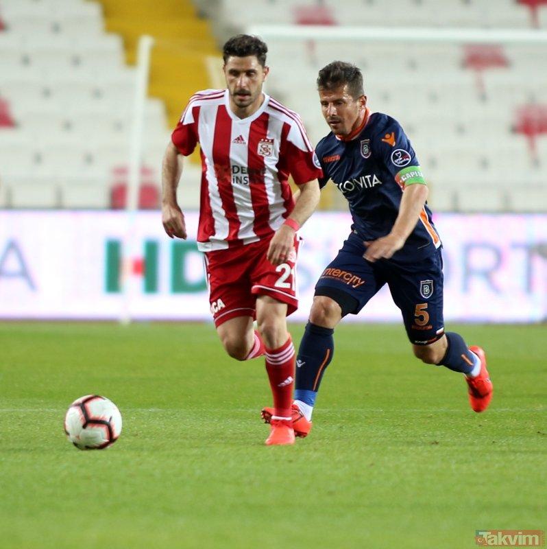 Başakşehir Sivas'ta soğuk duş!   Sivasspor:0 - Başakşehir:0 Maç sonucu