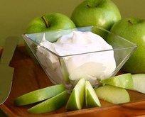 Elma-yoğurt kiloları unut