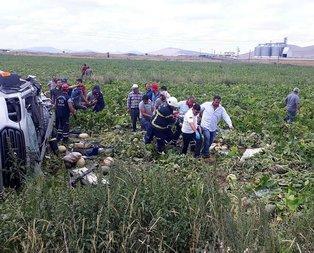 Son dakika: Nevşehir'de katliam gibi kaza! 7 ölü, 11 yaralı