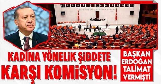 Kadına şiddete karşı komisyon kurulacak!