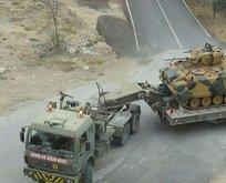 Hatay sınırında askeri hareketlilik
