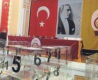 Saray'da tarihi seçim