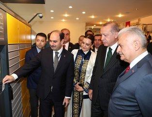 Başkan Erdoğan Dokuz Eylül Üniversitesi akademik yılı açılış törenine katıldı