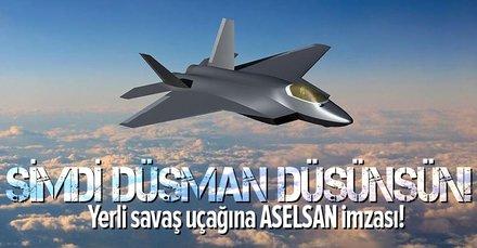 Milli Muharip Uçak'a ASELSAN imzası!