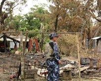Myanmarlı vahşilerden Kuran-ı Kerime alçak saldırı!