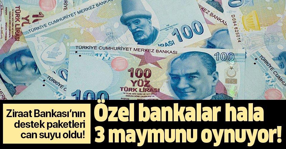Son dakika: Ziraat Bankası'nın destek paketi Kovid-19'a karşı sanayiciye can suyu oldu! Özel bankalardan hala ses yok