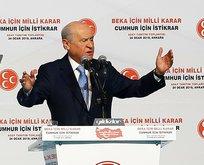 Bahçeli CHP'nin kriz ve kaos siyasetine ateş püskürdü