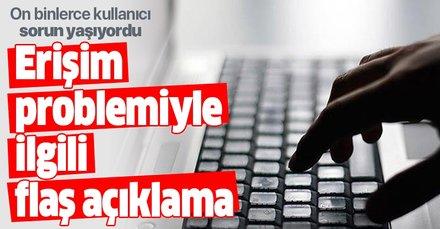 Son dakika: Türk Telekom'dan internet erişim problemiyle ilgili açıklama   Google çöktü mü?