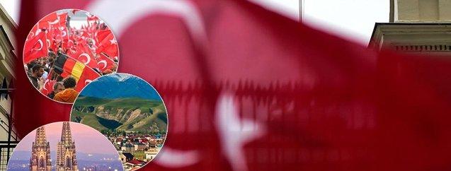Hangi ülkede kaç Türk yaşıyor? En çok Türk...
