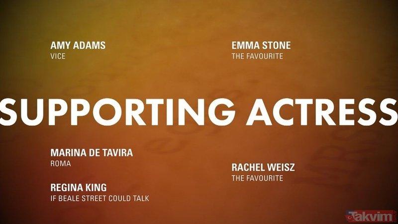 2019 Oscar Adayları açıklanıyor (91.Oscar Ödülleri adayları)