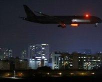 BAE uçağı İsrail hava sahasında