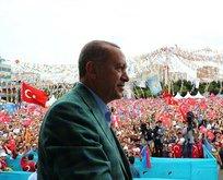 Erdoğandan Eyüp Sultanda dua