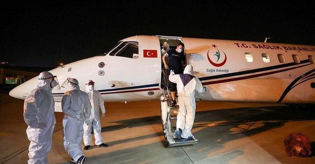 3 Türk hava ambulansıyla Türkiye'ye getirildi