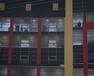 Süper Lig takımının binasına silahlı saldırı