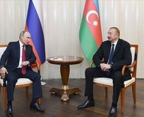 Putin ve Aliyev'den 'Karabağ' görüşmesi