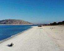Salda Gölü'ne ziyaretçi sınırı
