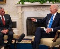 Biden ve 2. Abdullah Beyaz Saray'da buluştu