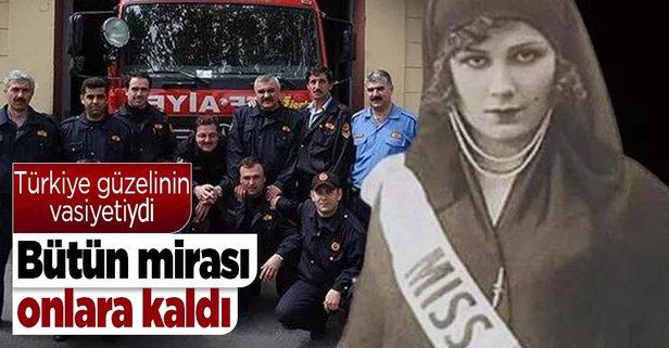 Türkiye güzelinin mirası itfaiyecilerin