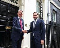 Hazine ve Maliye Bakanı Berat Albayrak İngiltere'de