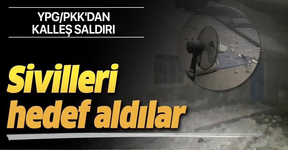 Son dakika: YPG/PKK'dan Cerablus'taki sivillere saldırı