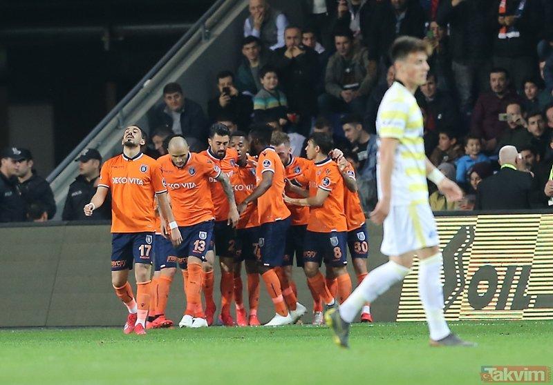 Lider sürprize izin vermedi! Başakşehir 2-1 Fenerbahçe