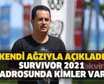 Netleşti! Survivor 2021 kadrosunda kimler var?