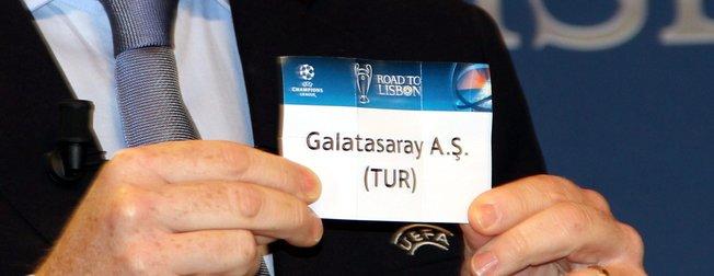 Galatasaray'ın Şampiyonlar Ligi'ndeki muhtemel rakipleri!