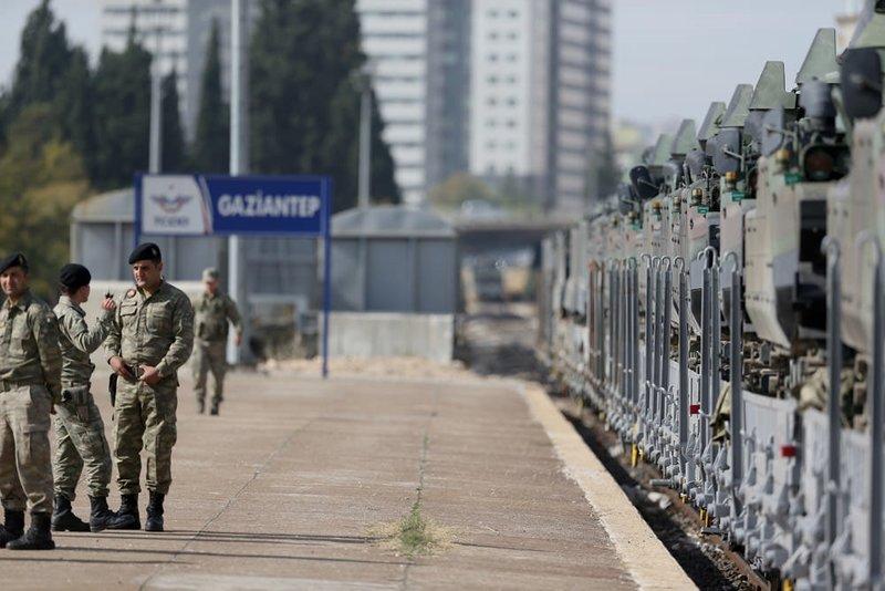 Çankırıdan askeri sevkiyat sürüyor
