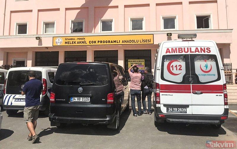 İstanbul Pendik'te bir okulda rehine krizi