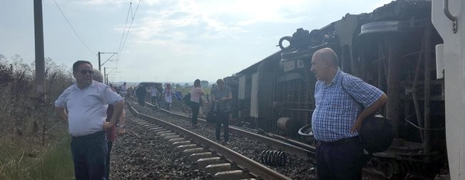 Çorlu'daki tren kazasından ilk görüntüler