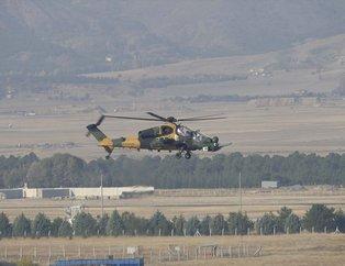 Güçlenen Atak helikopterinden ilk uçuş! Gövde gösterisi yaptı
