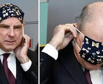 Başbakan Yardımcısının maskeyle imtihanı
