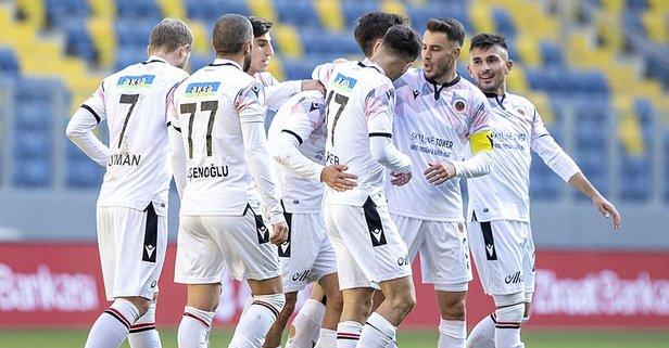 Gençlerbirliği tek golle tur atladı!