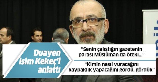 Sadık Albayrak, Ahmet Kekeç'i anlattı