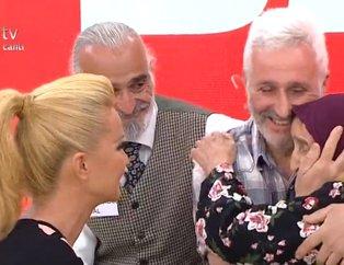 Müge Anlı canlı yayınında film gibi hayatlar! 60 yıl sonra oğlunu ilk kez gören annenin gözyaşları...