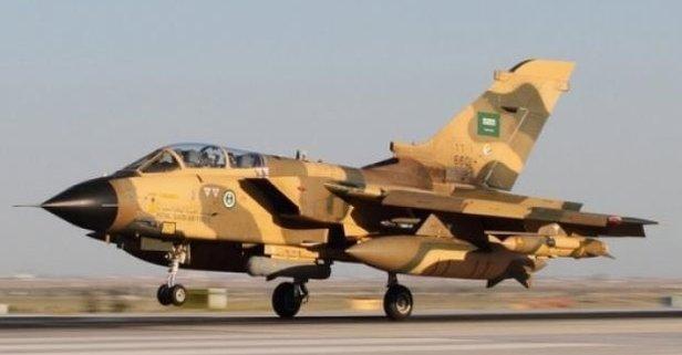 Suudi Arabistanda savaş uçağı düştü