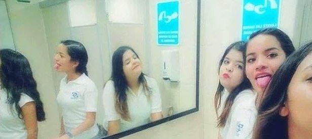 Bilim insanlarını şoke eden görüntü! Genç kızların çektiği bu fotoğraf kan dondurdu...